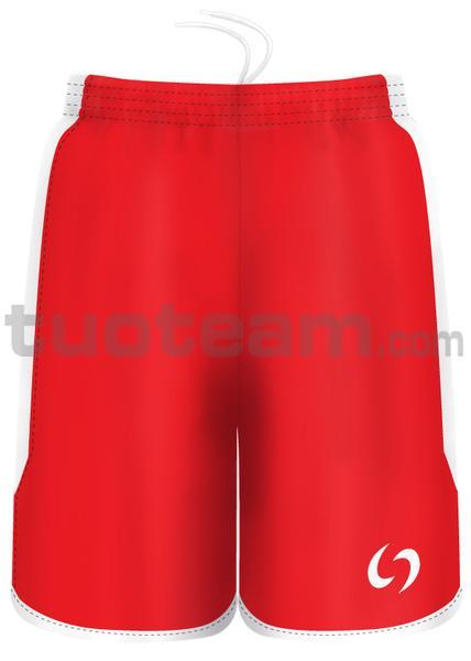 7259 - pantaloncino KENIA - ROSSO / BIANCO
