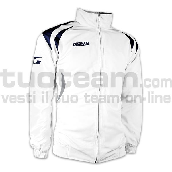 IB02 - Giacca Belgio - WHITE/NAVYBLUE
