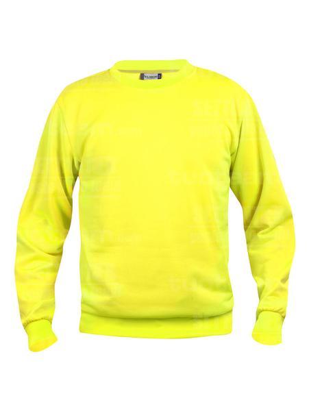 021030 - FELPA Basic Roundneck - 11 giallo HV