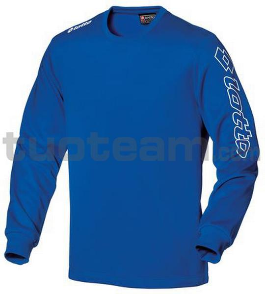 Q7973 - T-SHIRT M/L ZENITH PL junior blu royal