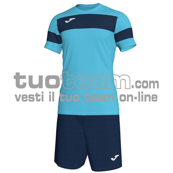 101349 - ACADEMY III SET M/C MAGLIA+SHORT polyester interlock