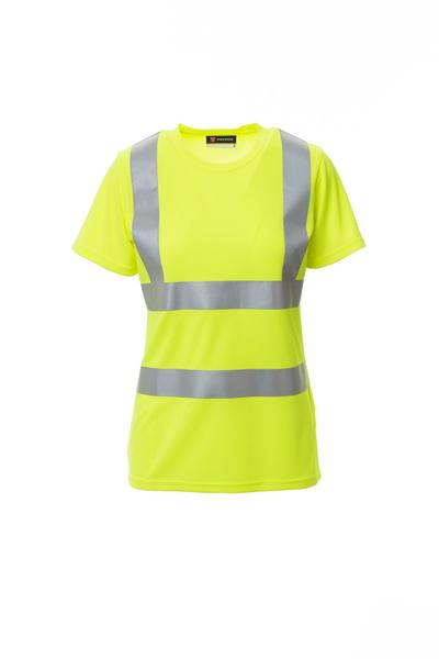 AVENUE LADY - AVENUE LADY T SHIRT - GIALLO FLUO