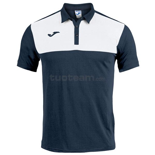 101108 - WINNER II POLO WINNER MC 65% polyester 35% cotton - 332 DARK NAVY / BIANCO