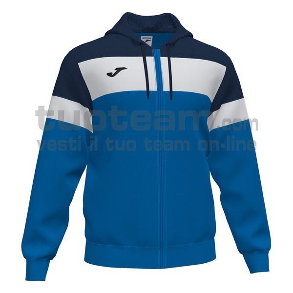 101537 - CREW IV FELPA FULL ZIP CAPPUCCIO 100% polyester fleece - 703 ROYAL / DARK NAVY