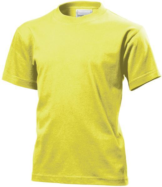 ST2200 - Classic Maglia Bambino G/C M/C 100% Cot 155 gr/m2 - Yellow