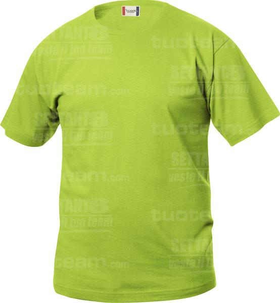 029032 - T-SHIRT Basic T Junior - 67 verde mela