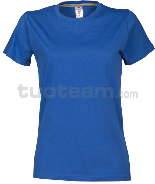 SUNRISE LADY - SUNRISE LADY t shirt - BLU ROYAL
