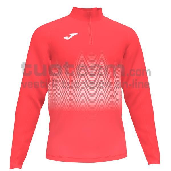 101541 - ELITE VII FELPA 90% polyester 10% fleece elastane - 040 ARANCIONE FLUOR SCURO