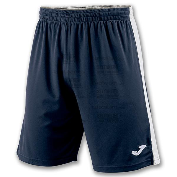 100684 - TOKIO II SHORT 100% polyester interlock - BLU NAVY/BIANCO