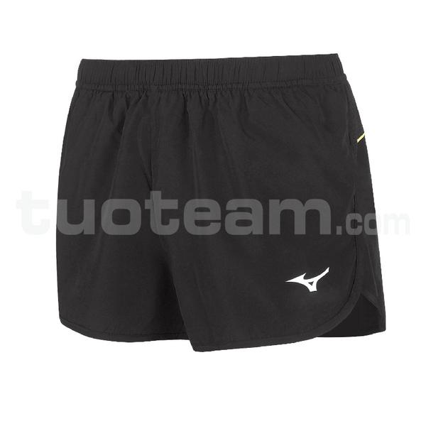 U2EB7201 - Premium JPN Split Short - Black/Black
