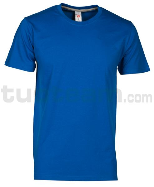 SUNSET - T-SHIRT SUNSET - BLU ROYAL