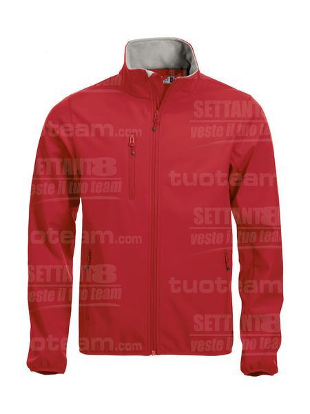020910 - GIACCA Basic Softshell Jacket Men - 35 rosso