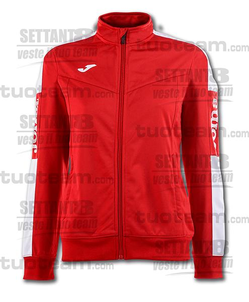 900380 - CHAMPIONSHIP IV WOMAN GIACCA TRICOT - 602 ROSSO/BIANCO