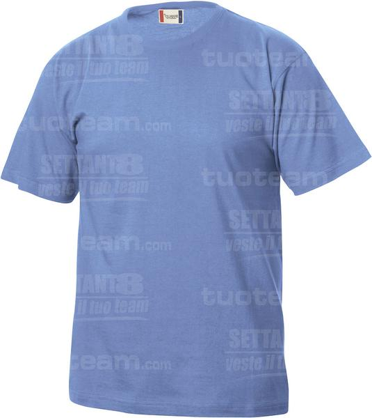 029032 - T-SHIRT Basic T Junior - 57 azzurro