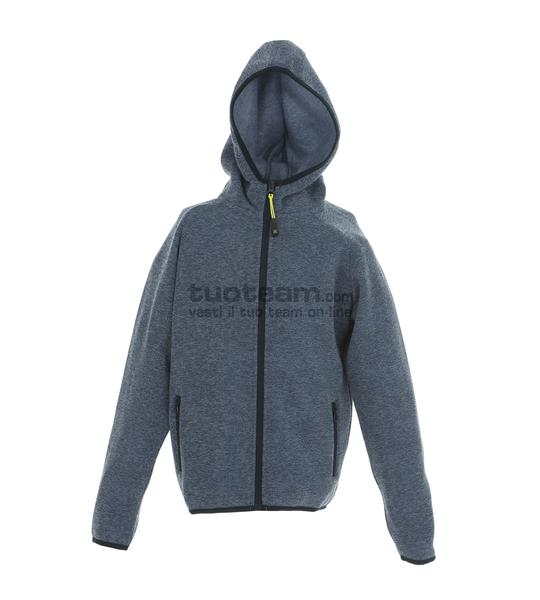 99193 - Knitted Fleece Quebec Boy - LIGHTBLUE