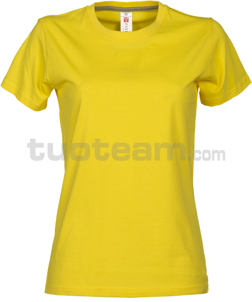SUNRISE LADY - SUNRISE LADY t shirt - GIALLO