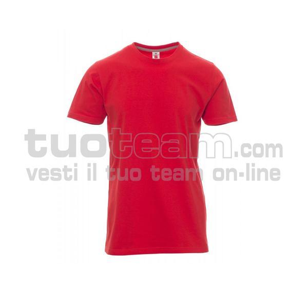SUNRISE - T-shirt girocollo manica corta - ROSSO