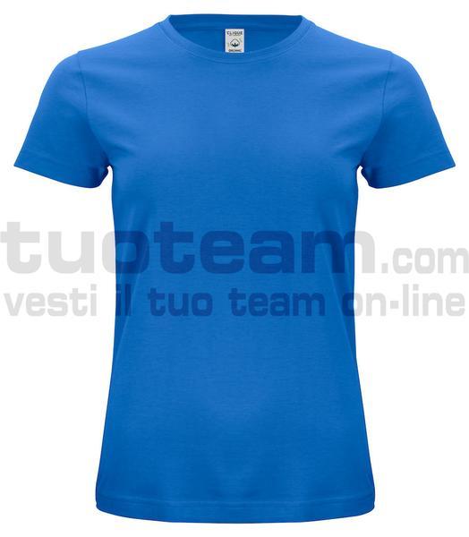 029365 - Organic Cotton T-shirt Lady - 55 royal