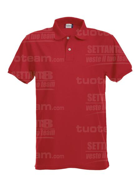 028240 - POLO Premium - 35 rosso