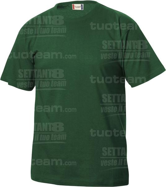 029032 - T-SHIRT Basic T Junior - 68 verde bottiglia