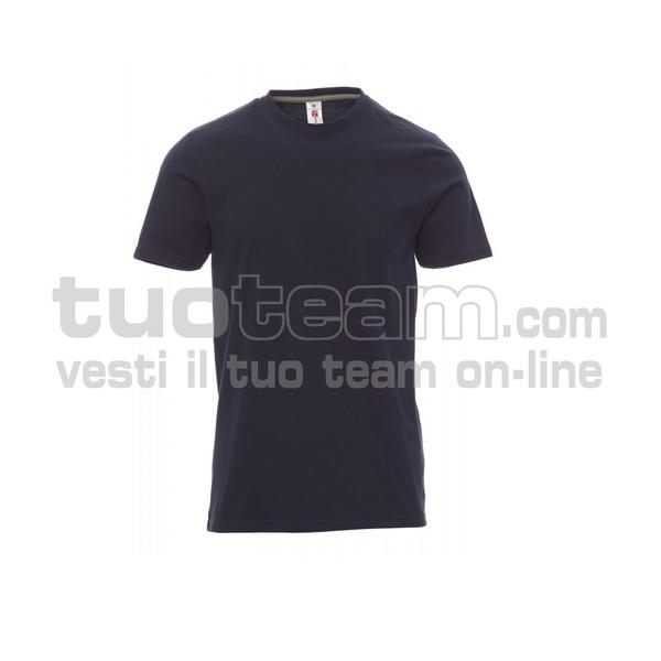 SUNRISE - SUNRISE t shirt - BLU NAVY