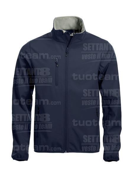 020910 - GIACCA Basic Softshell Jacket Men - 580 blu
