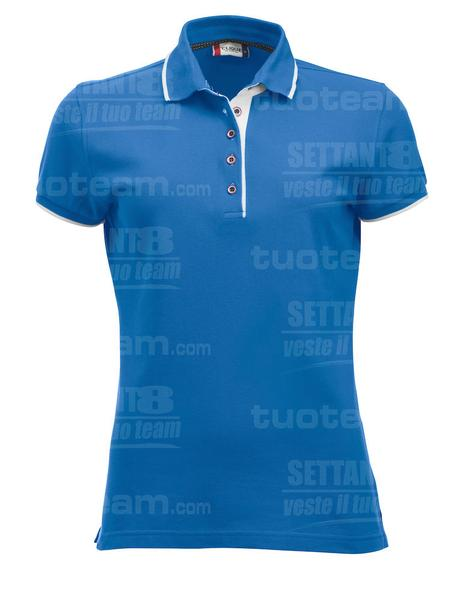 028243 - POLO Seattle Lady - 510 azzurro brillante