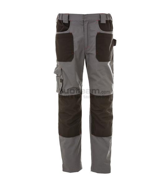 99182 - RIAD Pantalone multitasche elasticizzato - GRIGIO