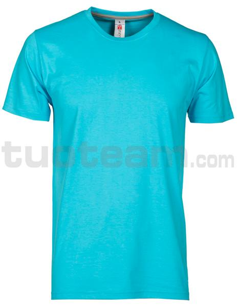 SUNSET - T-SHIRT SUNSET - BLU ATOLLO