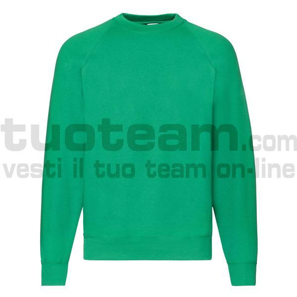 f62216 - Classic Felpa Girocollo - Verde Prato
