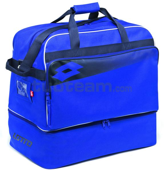 L53095 - BORSA CALCIO OMEGA II MEDIA - royal / navy / bianco