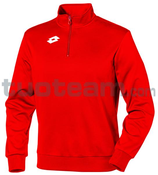 L56924 - DELTA JR SWEAT HZ PL - rosso