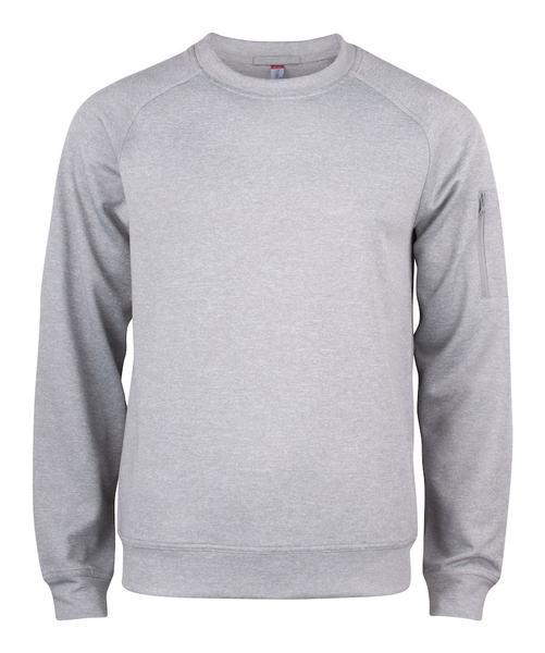 021010 - Basic Active Roundneck - 95 grigio melange