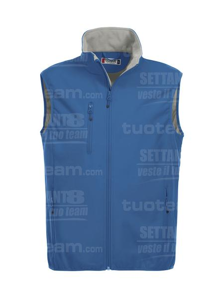 020911 - GILET Basic Softshell Vest Men - 55 royal