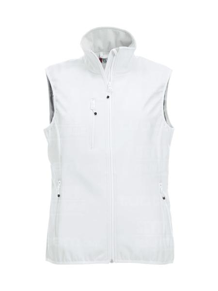 020916 - GILET Basic Softshell Vest Ladies - 00 bianco