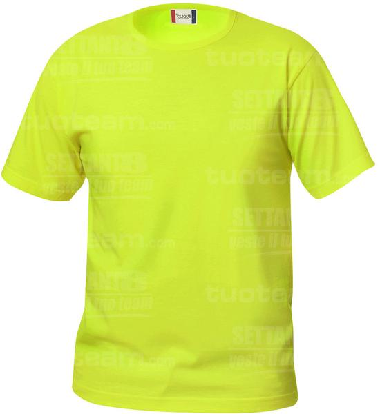 029032 - T-SHIRT Basic T Junior - 600 verde intenso