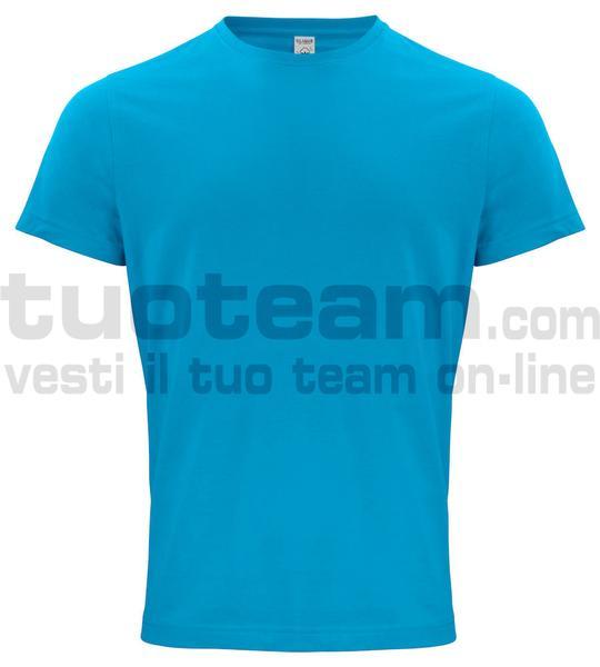 029364 - Organic Cotton T-shirt - 54 turchese