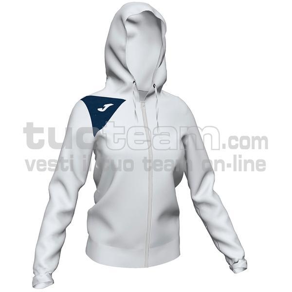 900869 - GIACCA SPIKE II 90% polyester fleece 10% elastan - 203 BIANCO / DARK NAVY