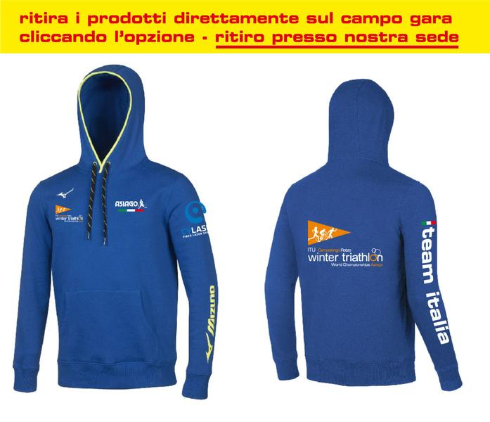 BD1800055 - Felpa Royal Uomo World Championship Winter Triathlon (IT)