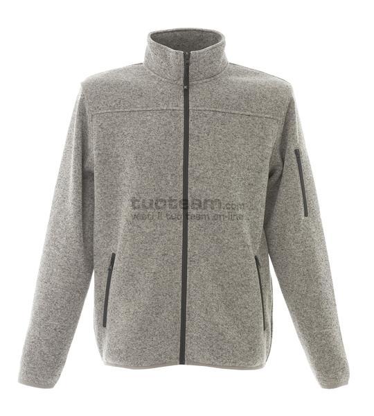 99208 - Knitted Fleece Manchester - LIGHT GREY