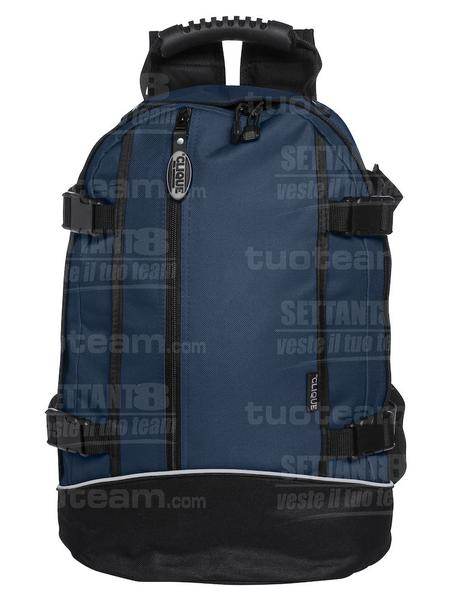 040207 - ZAINETTO Backpack II - 58 blu navy
