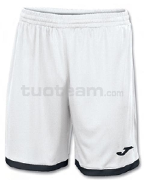 100006 - TOLEDO SHORT 100% polyester interlock - 200 BIANCO/NERO