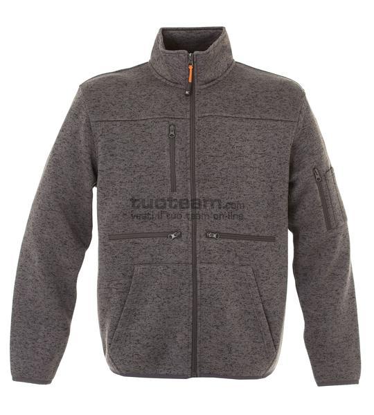 99179 - Knitted Fleece Hannover - DARK GREY