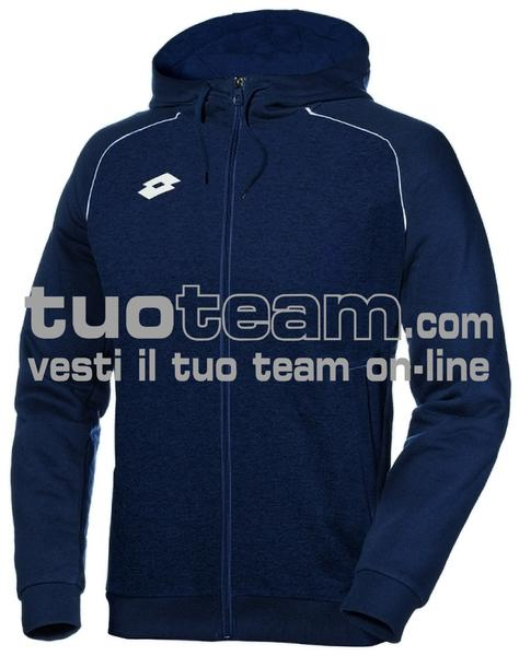 L58702 - DELTA PLUS JR SWEAT FZ HD FL - navy blue