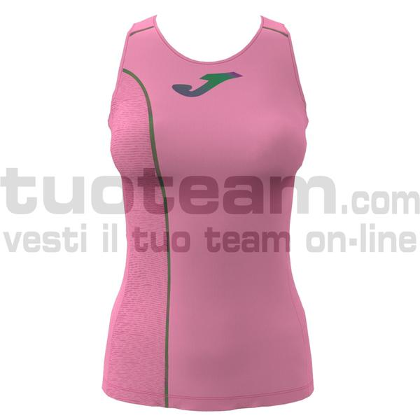 900955 - TABARCA SLEEVLESS 90% polyester 10% spandex - ROSA FLUO