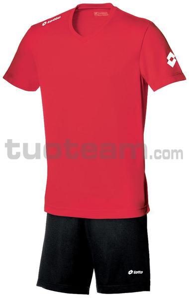R3783 - MAGLIA TEAM EVO M/L rosso