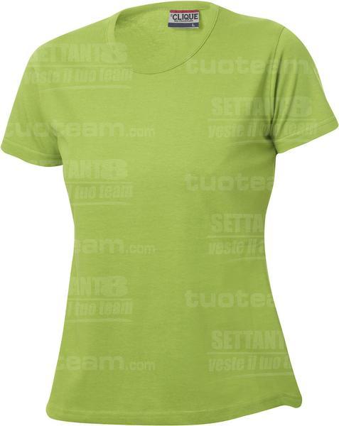 029325 - T-SHIRT Fashion-T Lady - 67 verde mela