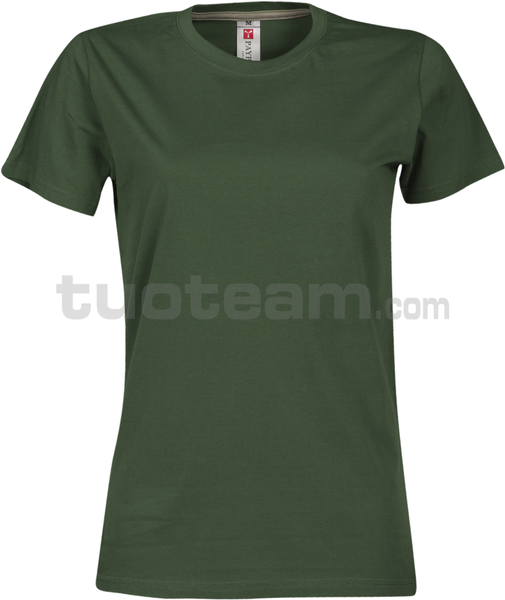 SUNRISE LADY - SUNRISE LADY t shirt - VERDE