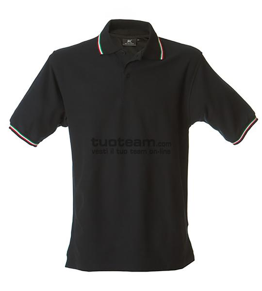 98844 - Polo Aosta Man - NERO