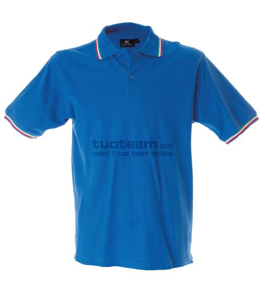 98844 - Polo Aosta Man - BLU ROYAL